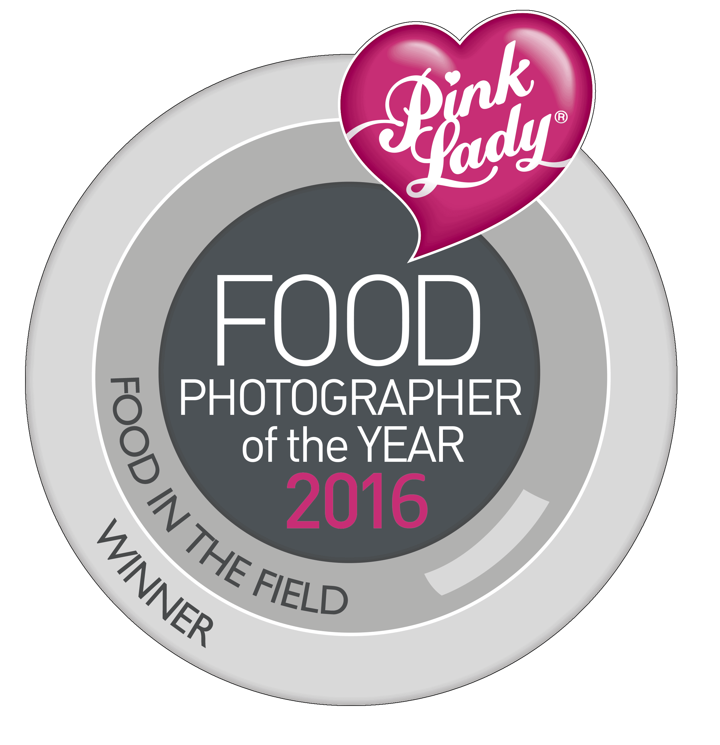 Robin Goodlad Dorset food photographer and winner of the Food in the field category, Pink Lady Food Photographer of the year