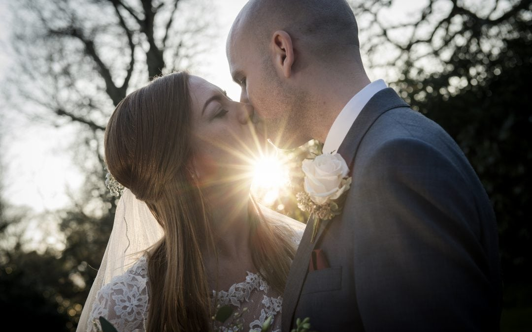 Catherine and Peter's spring wedding at the Old Vicarage, Christchurch