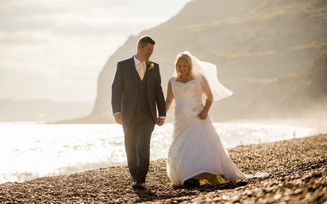 Tithe Barn Symondsbury wedding photography – James and Sally