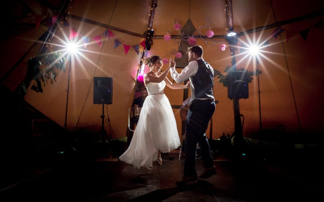 Rowena and Howard's Festival style tipi wedding