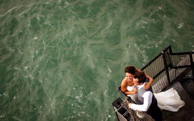 Spitbank fort wedding photography – Hazel and Ben's incredible nautical wedding at sea