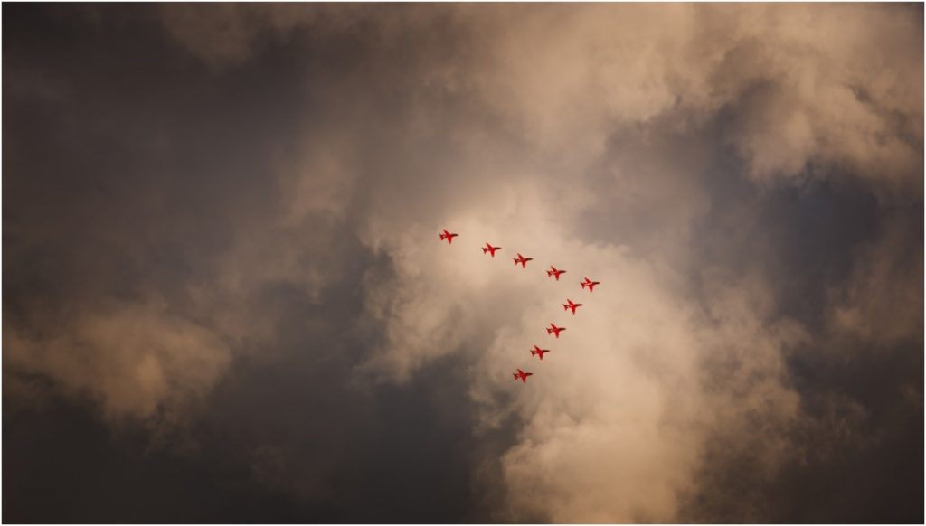 spitbank fort wedding photography red arrows