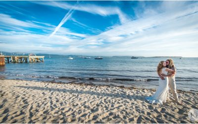 Snowdonia wedding photography | Rachel and Richie's Aberdovey beach wedding