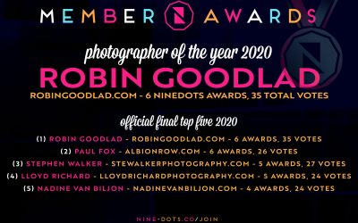 NineDots Wedding Photographer Of The Year 2020!