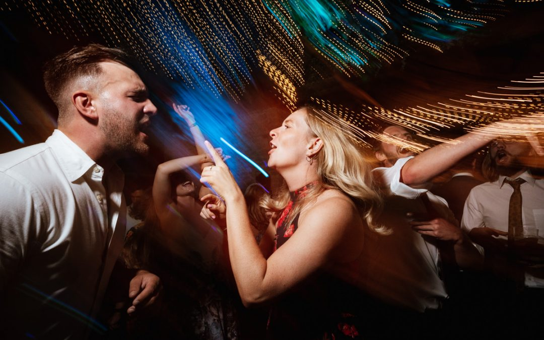 Best wedding dance floor photography set up with the Nikon Z6ii